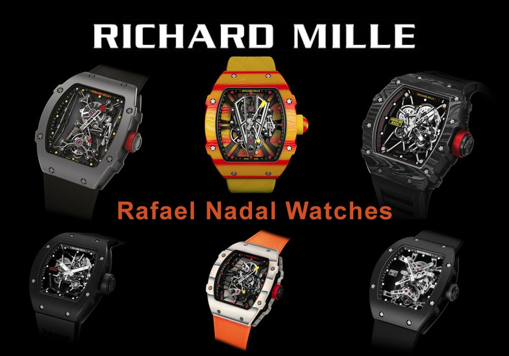 Richard Mille Rafael Nadal Watches The Center Of Media Attention