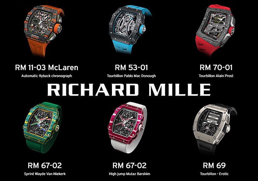 Avi Co The Largest Inventory Of Richard Mille Watches